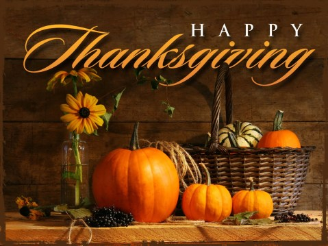 Happy Thanksgiving To You & Your Family!!
