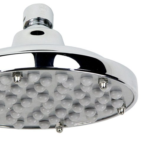 luxurious low profile shower head